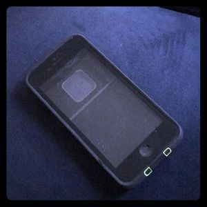 Black Lifeproof iPhone case
